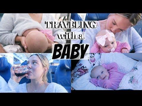 Flying having a Newborn