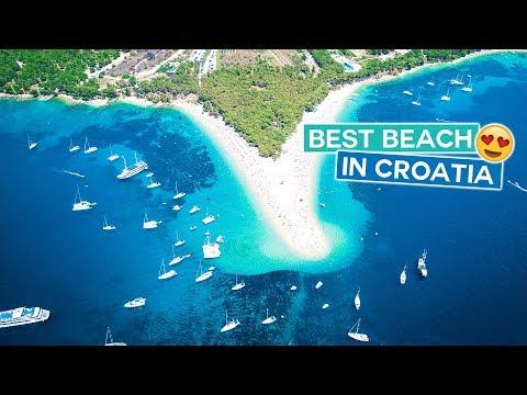Most Beautiful Beach in Croatia!