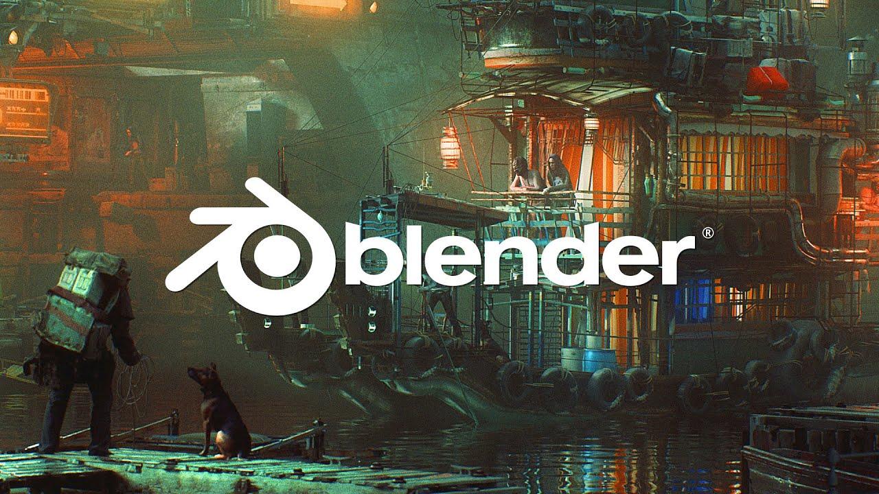 إستعراض بلندر 2.83 (Blender 2.83 Walkthrough)