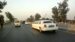 3 Limousine Cars in Wedding Barat Lahore Pakistan