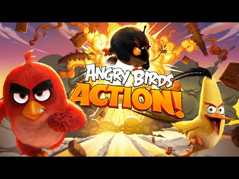 ANGRY BIRDS ACTION - GAMEPLAY IOS/ANDROID
