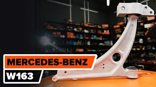 Τοποθέτησης Ψαλίδια αυτοκινήτου πίσω και εμπρος MERCEDES-BENZ M-CLASS: εγχειρίδια βίντεο