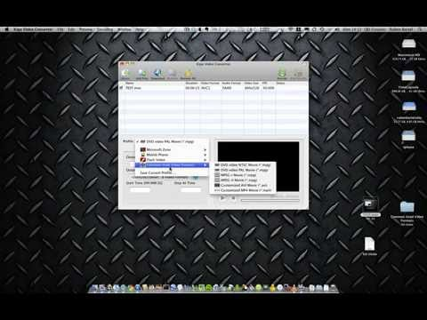 Conversion Video Kigo video converter