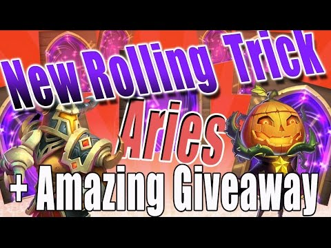 Castle Clash-Awesome PD Giveaway(CLOSED) Plus 3 Slimes Rolling Trick Gets Aries