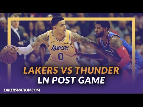 Lakers Discussion: Lakers Beat the Thunder in Overtime, Kuzma and Zo Close Out Game, Zu Steps Up