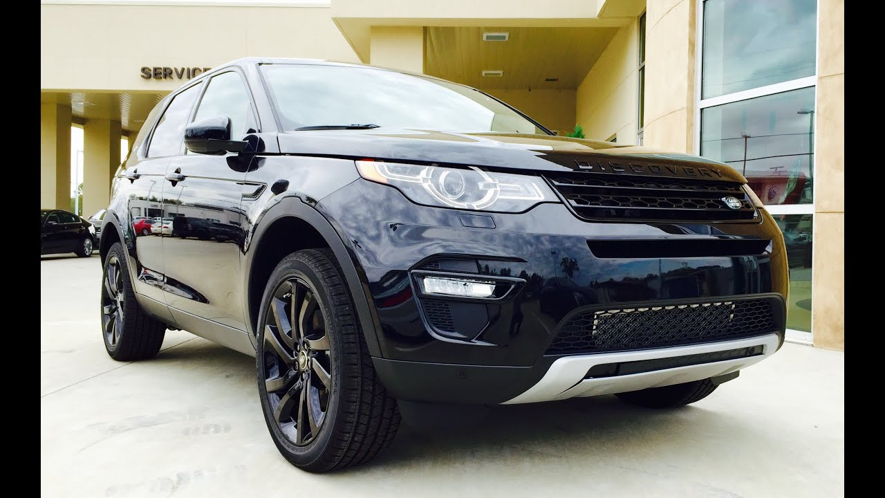 2015/2016 Land Rover Discovery Sport Full Review /Exhaust / Start Up ...