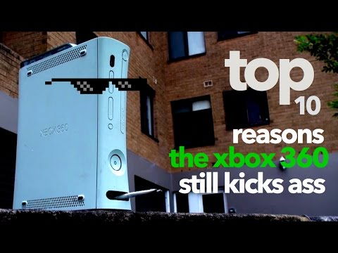 Top 10: Reasons the Xbox 360 still kicks ass.
