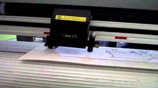 Tutorial contour cut with teneth plotter