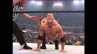 Vengeance 2001. Chris Jericho vs The Rock & Steve Austin (WWF Undisputed Championship)