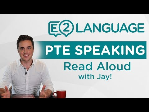 PTE Speaking: Read Aloud | THE 44 SOUNDS OF ENGLISH with Jay!