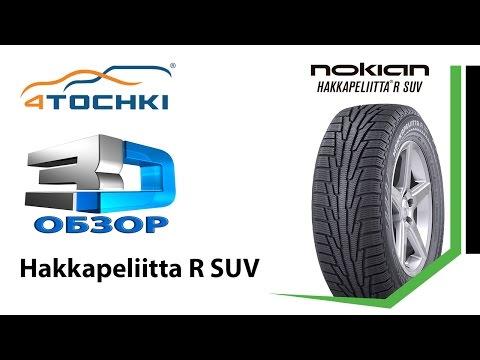 3D-обзор шины Nokian Hakkapeliitta R SUV