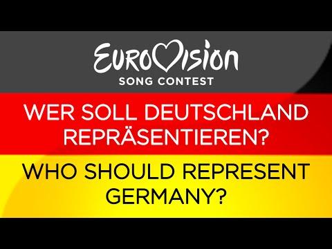 Eurovision: Wer soll Deutschland repräsentieren? / Who should represent Germany?