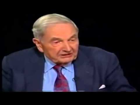 David Rockefeller's Thoughts On WTC Towers