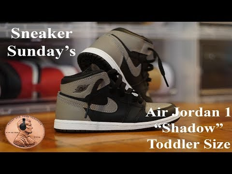 """air-jordan-1-""""shadow""""-toddler-size-unboxing-and-full-detailed-review-(4k)"""