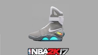 NBA 2K17 Shoe Creator ⋆#NBA2K17⋆ Nike Air Mags  <table cellpadding=