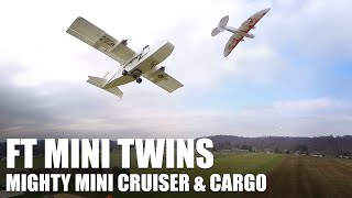 Flite Test | Mighty Mini Twins (Cruiser and Guinea)