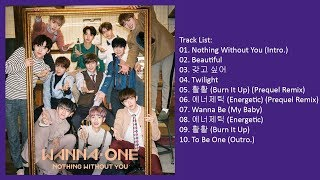Full Album Wanna One 1 1 0 NOTHING WITHOUT YOU Repackage Album