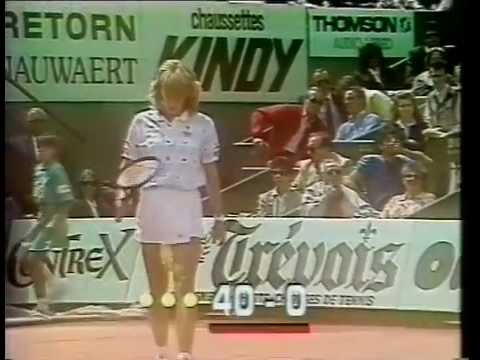 1987 French Open Final Steffi Graf vs Martina Navratilova