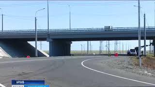 В Ташлинском районе продолжается строительство первой очереди дороги на Иртек