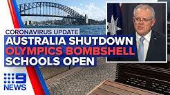 Coronavirus: Australia shutdowns begin, Schools open | Nine News Australia