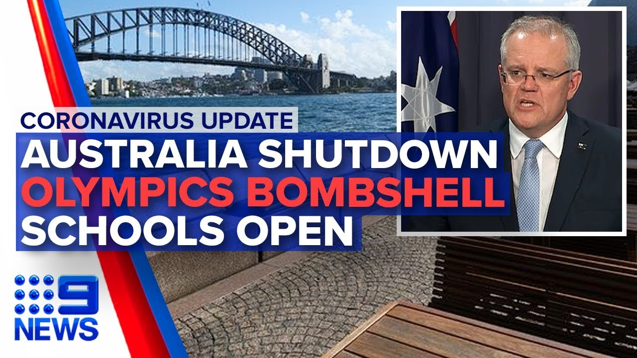 Coronavirus: Australia begins shutdown, Schools open | Nine News Australia - YouTube