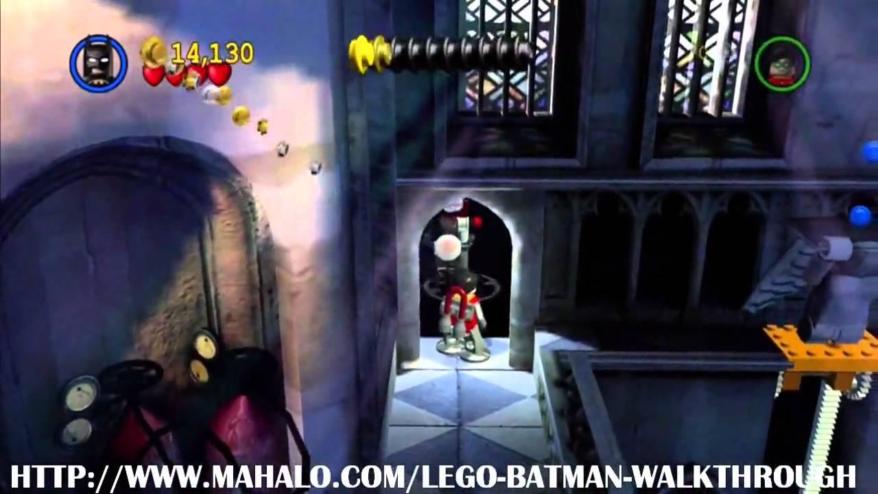 LEGO Batman Walkthrough - Mission 15: Top of the Tower ...