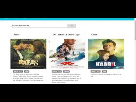 Building Movies Database with Laravel & AngualrJS 2 (Backend Overview)