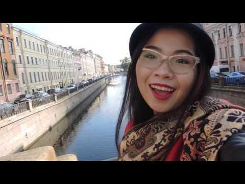 Travelling Vlog #1: Russia - Saint Petersburg   Du lịch Nga - Thành phố St Petersburg