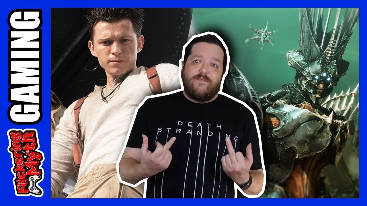 Uncharted trailer flops, Destiny 2: The Witch Queen controversy | Seven Day Replay - Flickering Myth