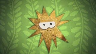 Бумажки. Звездная ночь  Мультик оригами для детей. Поделки из бумаги. Серия 20
