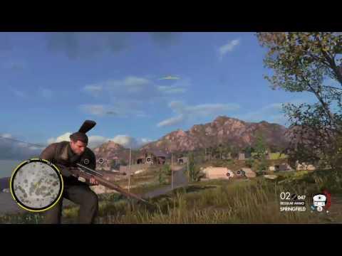 Sniper Elite 4 Even More Kills Gameplay |