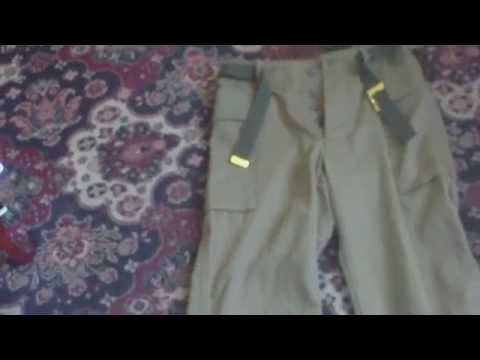 WORLD WAR TWO US ARMY MODEL 1941 HERRING BONE TWILL COMBAT TROUSERS
