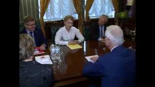 Yulia Tymoshenko meets with the director of the Konrad Adenauer Foundation