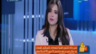 نهار جديد : منال فتحي مدير عام الشئون الفنية للتعدادات  للحديث عن مشكلة الانفجار السكاني