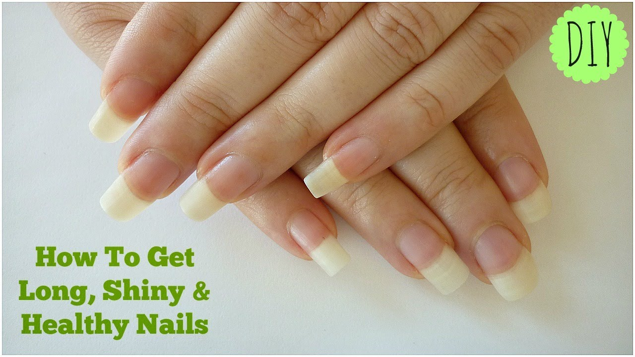 How To Get Long, Shiny & Healthy Nails At Home! - IndianNailArt ...