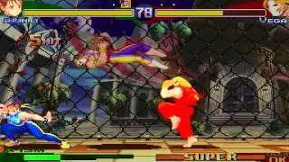 DM03 Street Fighter Alpha 3 ~ Ken/Chun-li Playthrough 【TAS】