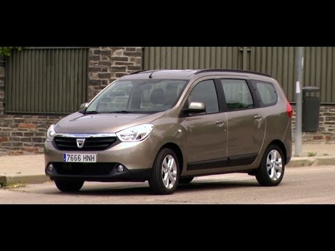 dacia lodgy 1 2 tce 115 cv laureate youtube. Black Bedroom Furniture Sets. Home Design Ideas