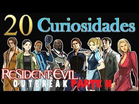 20 Curiosidades de Resident Evil Outbreak File 1 & 2 (Parte II)
