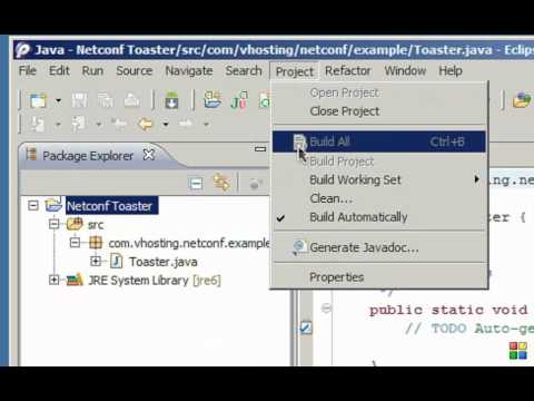 Netconf4Android Quickstart Step1 Video 2