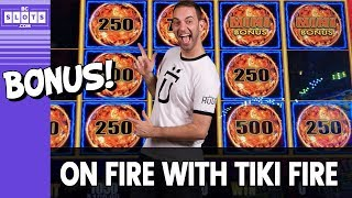 🔥 On-Fire BONUS 💰 Tiki Fire Action @ Cosmo Las Vegas ✪ BCSlots