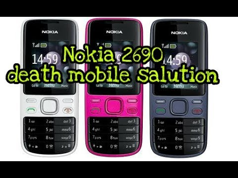 Nokia 2690 death mobile salutation.
