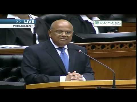 South Africa's 2014 budget speech