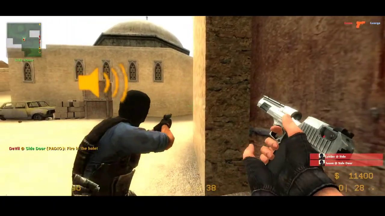 Counter Strike Source Female Player - YouTube