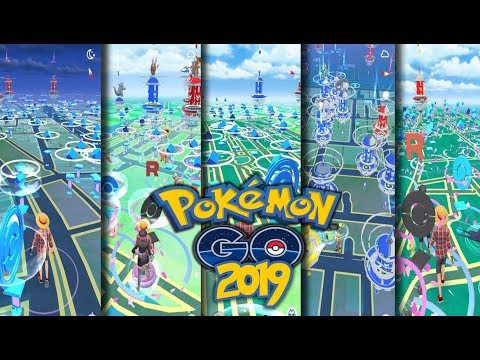 BEST Pokemon GO Hot Spots In The World 2019   Gain XP & Stardust FAST!