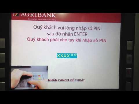 Agribank: máy ATM không in được hoá đơn : làm sao biết số tài khoản đây