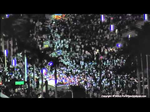 MIAMI HEAT Fans Celebrate NBA Championship 2012 - 6/21/2012