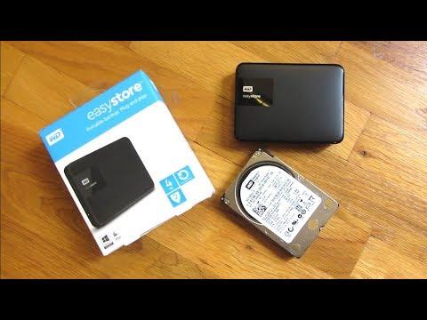 WD 4TB Elements Portable External Hard Drive USB 3.0 (EasyStore)