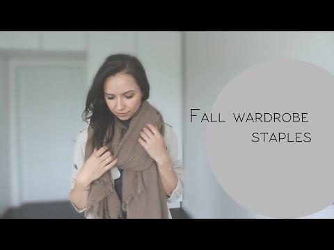 Осенний базовый гардероб 2015-2016