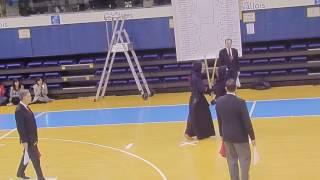 Kendo Open de France 2017 Final team DAEGU UNIVERSITY A vs FRANCE 2
