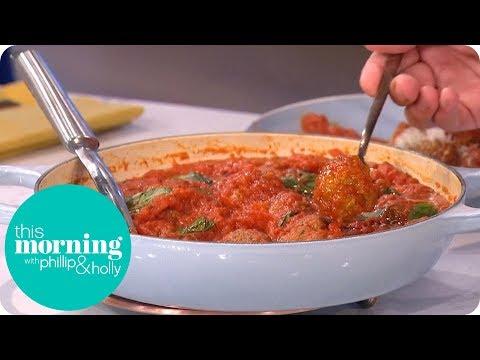 Gino D'Acampo Makes Mamma Alba's Meatballs!   This Morning